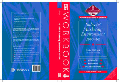 Sales and Marketing Environment 1997-98 - CIM Student Workbook S.: Certificate (Paperback)