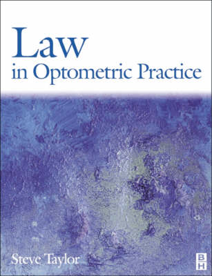 Law in Optometric Practice (Paperback)