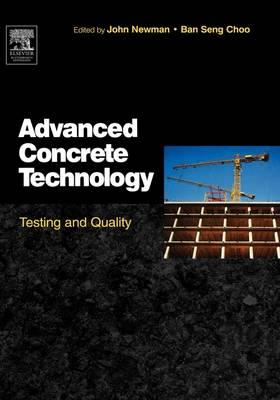 Advanced Concrete Technology 4: Testing and Quality (Hardback)