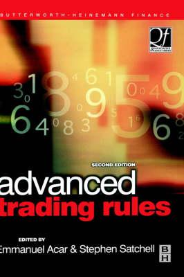 Advanced Trading Rules - Quantitative Finance (Hardback)
