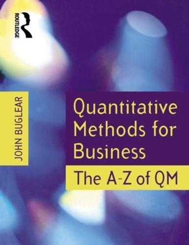 Quantitative Methods for Business (Paperback)