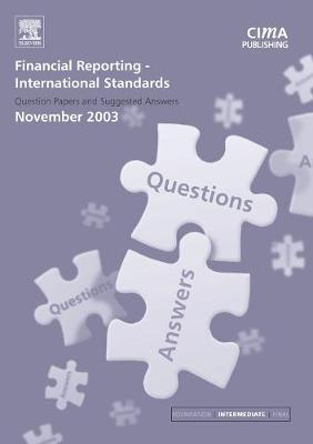 Financial Reporting International Standards November 2003 (Paperback)
