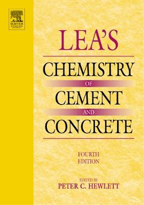 Lea's Chemistry of Cement and Concrete (Paperback)