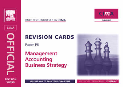Business Strategy 2005 - CIMA Revision Cards (Spiral bound)