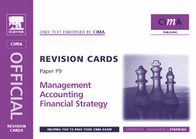 Financial Strategy 2005 - CIMA Revision Cards (Spiral bound)