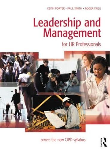 Leadership and Management for HR Professionals (Paperback)