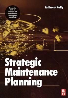 Strategic Maintenance Planning (Paperback)