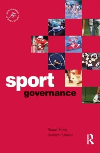 Sport Governance - Sport Management Series (Paperback)