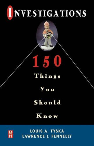Investigations 150 Things You Should Know (Paperback)