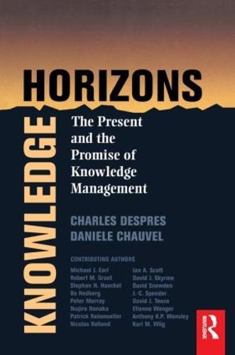 Knowledge Horizons (Paperback)