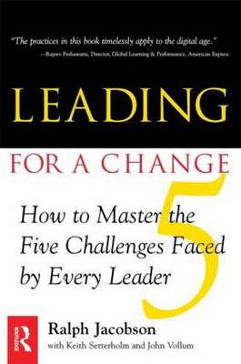 Leading for a Change (Paperback)