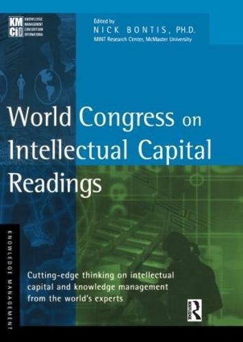 World Congress on Intellectual Capital Readings (Hardback)