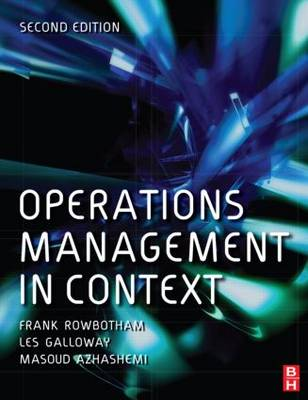 Operations Management in Context (Paperback)
