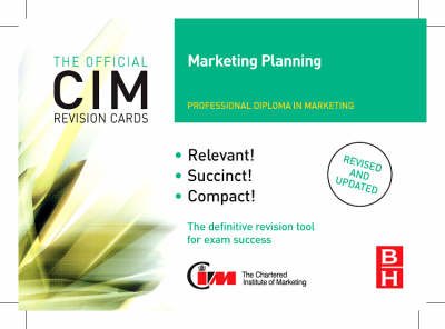 CIM Revision Cards Marketing Planning (Hardback)