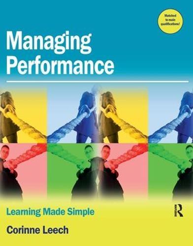 Managing Performance (Paperback)
