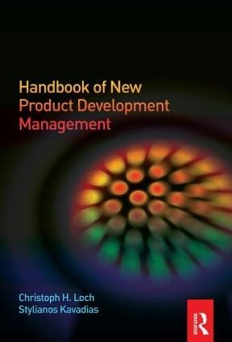 Handbook of New Product Development Management (Hardback)
