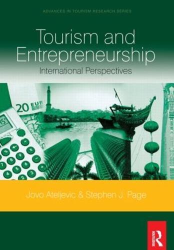 Tourism and Entrepreneurship (Paperback)