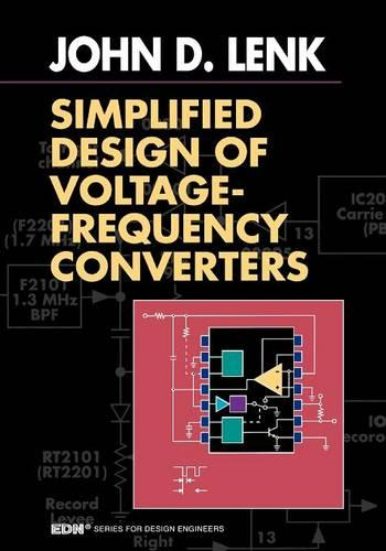 Simplified Design of Voltage/Frequency Converters - EDN Series for Design Engineers (Paperback)