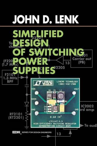 Simplified Design of Switching Power Supplies - EDN Series for Design Engineers (Paperback)