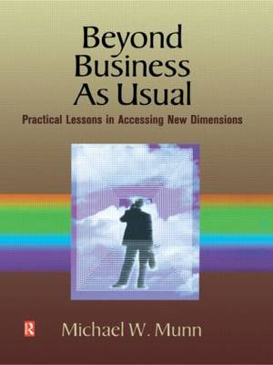 Beyond Business as Usual (Paperback)