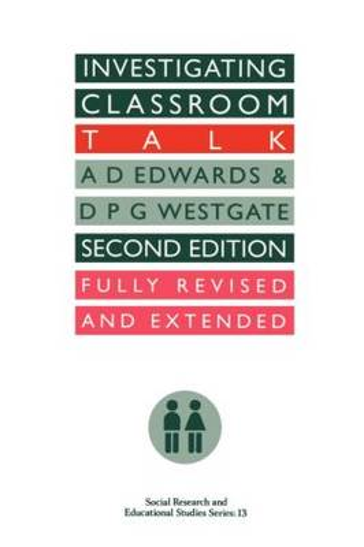 Investigating Classroom Talk (Paperback)