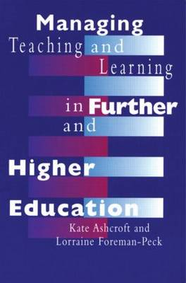 Managing Teaching and Learning in Further and Higher Education (Paperback)