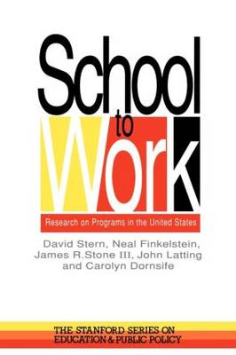 School To Work: Research On Programs In The United States (Paperback)