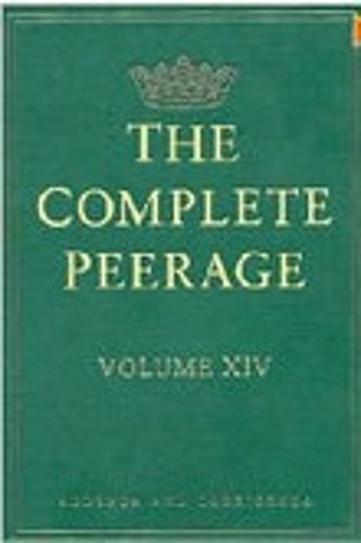 Complete Peerage (Hardback)