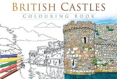 British Castles Colouring Book (Paperback)