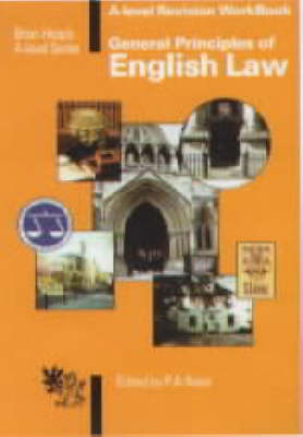 General Principles of English Law: A-level Revision Workbook - 'A' Level S. (Paperback)