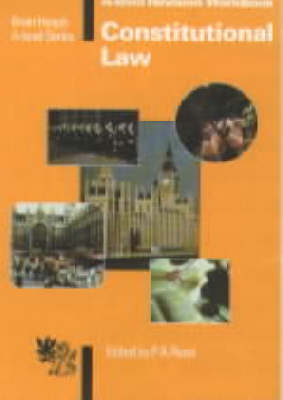 Constitutional Law: Revision Workbook - 'A' Level S. (Paperback)