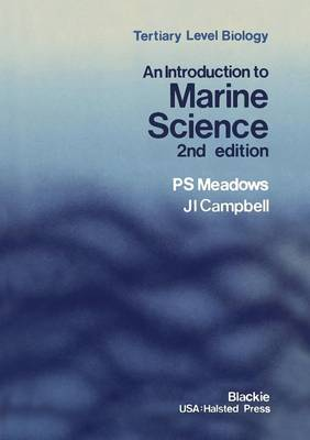 An Introduction to Marine Science - Tertiary Level Biology (Paperback)