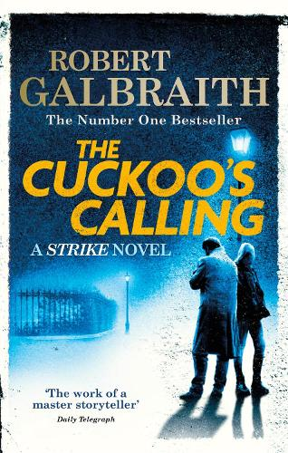 Book cover: The Cuckoo's Calling