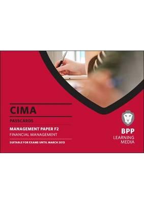 CIMA - Financial Management: Management paper F2: Passcards (Spiral bound)