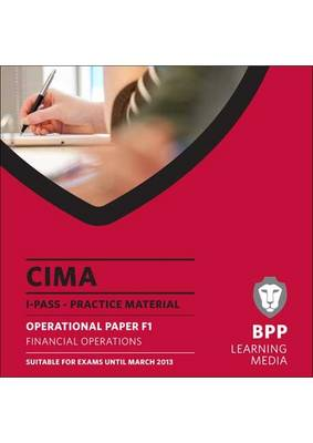 CIMA - Financial Operations: iPass (CD-ROM)