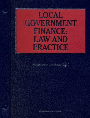 Local Government Finance: Law and Practice