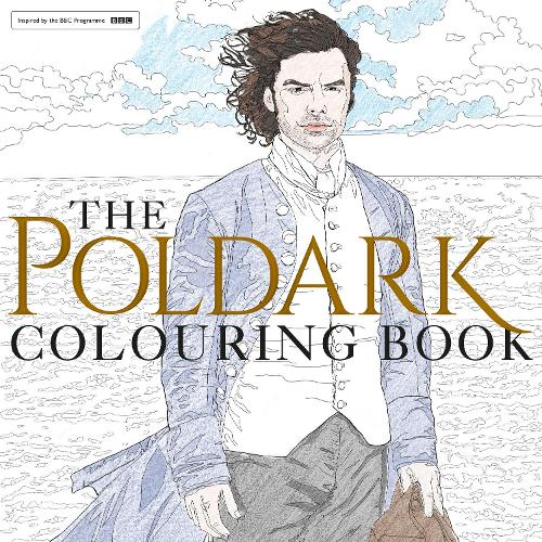The Poldark Colouring Book Paperback