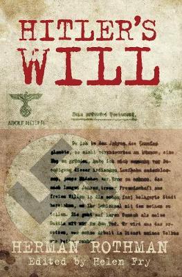 Hitler's Will (Hardback)