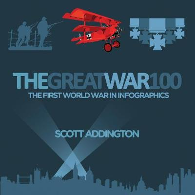 The Great War 100: The First World War in Infographics (Hardback)