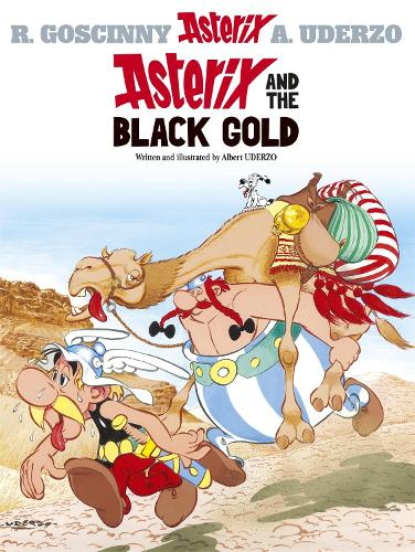 Asterix: Asterix and The Black Gold: Album 26 - Asterix (Hardback)