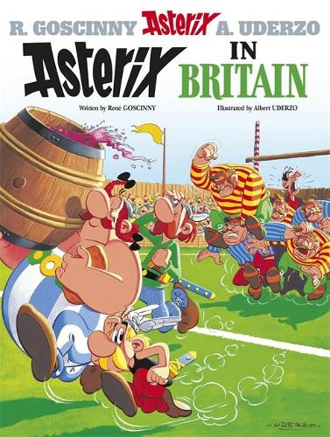 Asterix: Asterix in Britain: Album 8 - Asterix (Hardback)