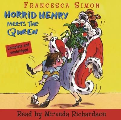 Horrid Henry Meets the Queen: Book 12 (CD-Audio)