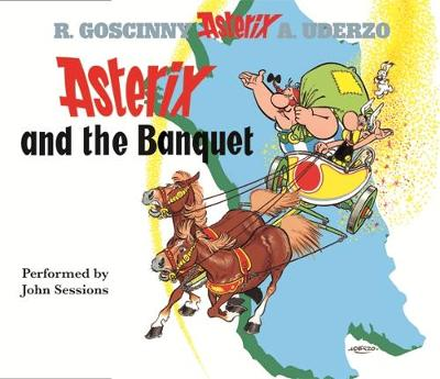 Asterix and the Banquet (CD-Audio)