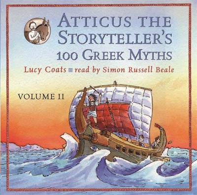 Atticus the Storyteller: 100 Stories from Greece (CD-Audio)
