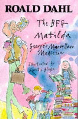 Roald Dahl Omnibus: No. 1: BFG, Maitilda and George's Marvellous Medicine (Hardback)