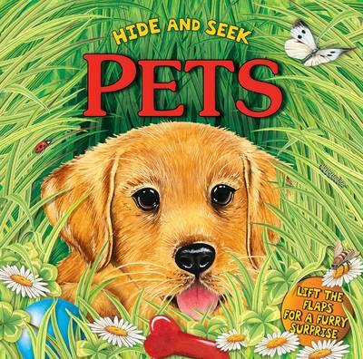 Hide and Seek: Pets (Board book)