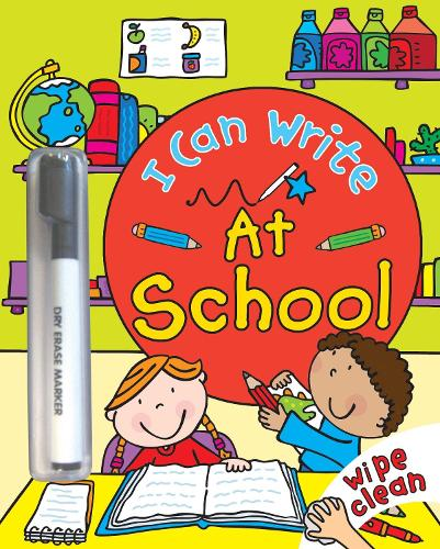 I Can Write: At School (Paperback)