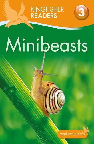 Kingfisher Readers: Minibeasts (Level 3: Reading Alone with Some Help) - Kingfisher Readers (Paperback)