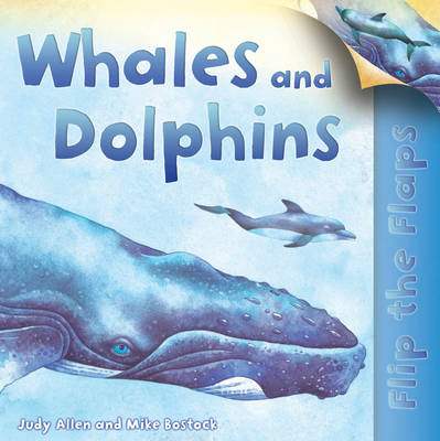 Flip the Flaps: Whales and Dolphins (Paperback)