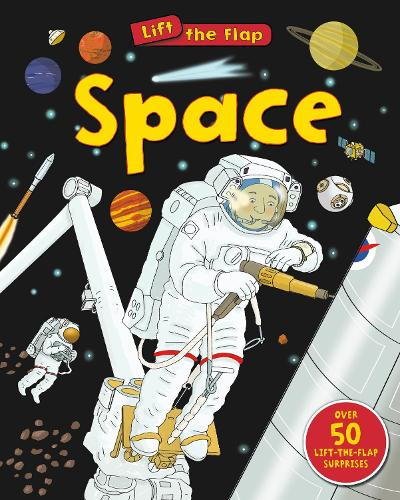 Space (Lift the Flap) - Lift the Flap (Board book)